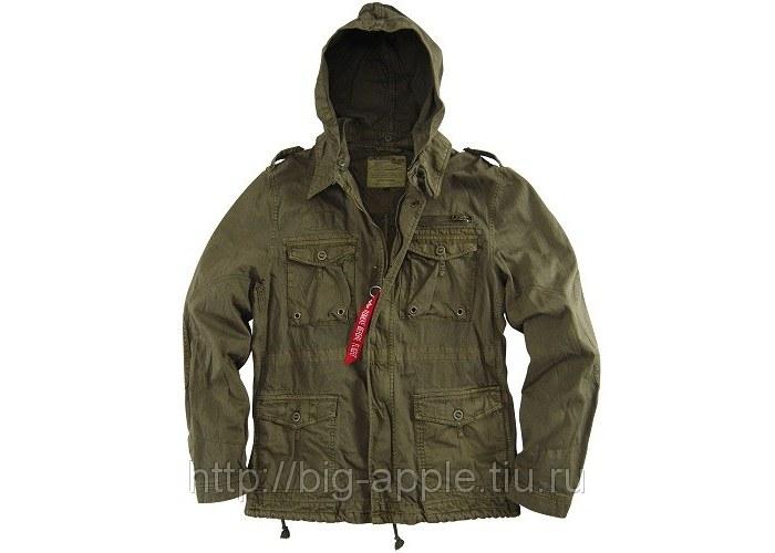 Куртка милитари мужская зеленая McGyver