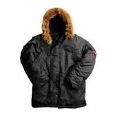 """Теплая куртка (парка)  """"N3B """".  Капюшон на меху, четыре внешних кармана с клапаном и один внутренний."""